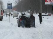 Киев в снегу –  дикие времена возвращаются!