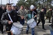 «Русский блок» в центре Николаева устроил «антисвободовский» марш