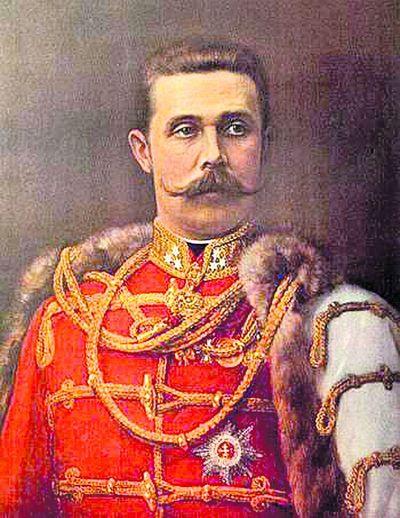 Эрцгерцог. Франц Фердинанд в гусарском мундире