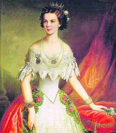 Мама Франца Иосифа. И флага