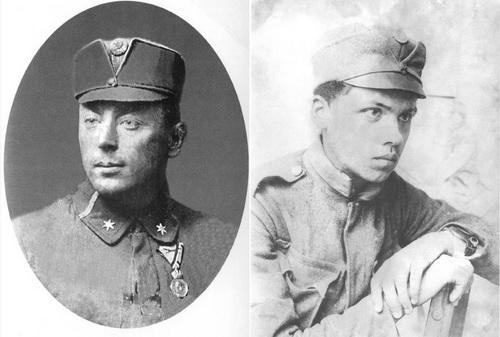 Австро-венгерские «сечевые стрельцы» в «мазепинках», 1915-1917 гг.