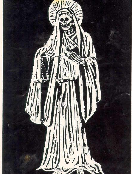 Санта Муэрте Бланка(Белая Святая Смерть)