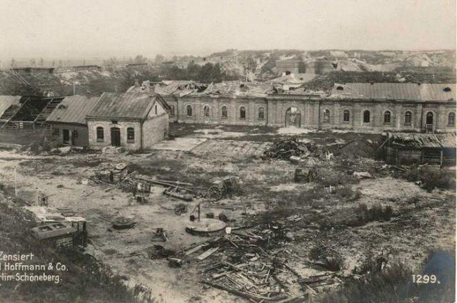 Руины крепости Осовец, 1915 г. © Public Domain
