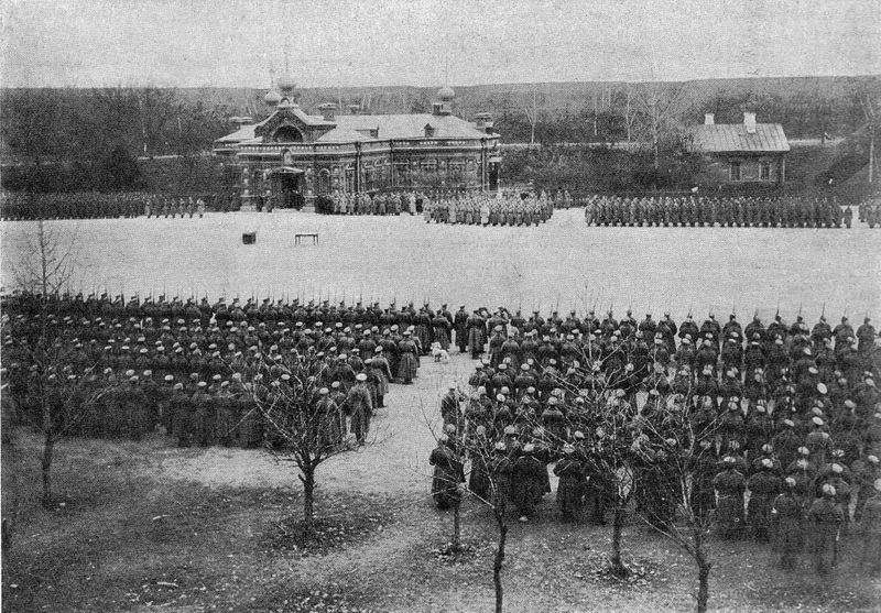 Крепость Осовец, 1915 г. Фото: Public Domain