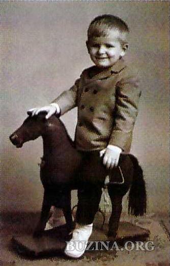 Олесь Бузина, детское фото