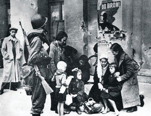 Варшава-1939. Постановочный польский снимок первых дней войны