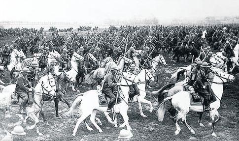 Польская кавалерия. Снимок до 1934-го — в этом году отменили пики