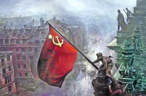 Над Рейхстагом другого флага Победы, кроме красного, не было