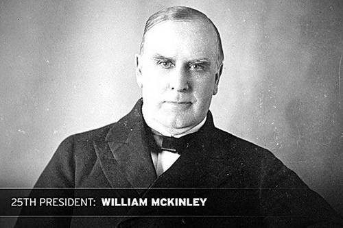 Президент Мак-Кинли имел внешность отъявленного злодея