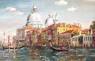 Венеция. Ее основание приписывают родственникам славян<br />— венетам.