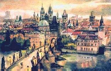 Прага. В чешской столице тоже есть свой<br />Подол и Вышгород.