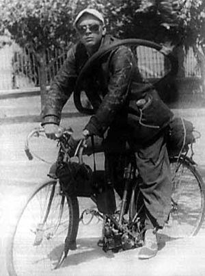 Студент. На велосипеде молодой Че исколесил половину<br /> Южной Америки