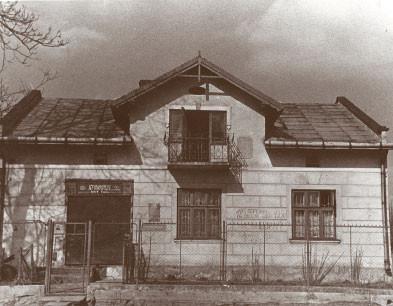 Дом в Билогорце.Именно тут был последний тайник Шухевича