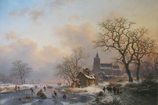 Малый ледниковый период. В XVII веке вЗападной Европе было холоднее, чем у нас сейчас. Согревались интригами иженщинами, которых теперь называют рубенсовскими