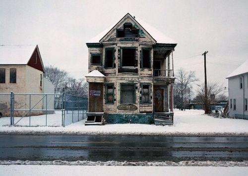 Милый домик. Спалили местные на Хэллоуин