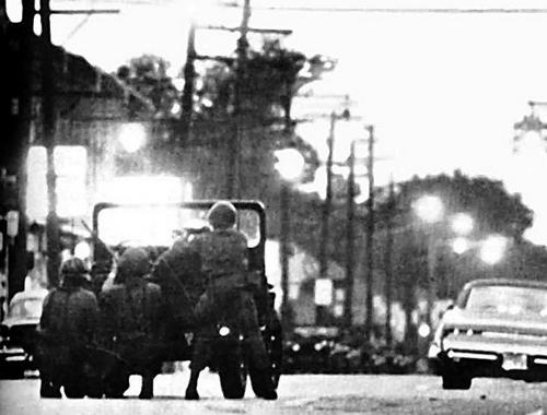 1967 г. Американская армия усмиряет Детройт