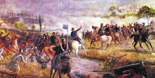 Виктор Эммануил при Сольферино. Единственный вклад итальянцев в дело своей независимости