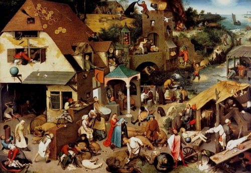 Друг у друга на головах. Картины ПитераБрейгеля (1525—1569) наглядно демонстрируют, что уже 500 лет назад Европа былаперенаселена
