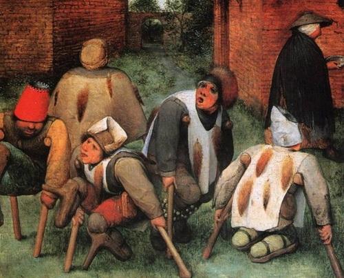 Нищие. Еще одна картина Брейгеля о«прекрасной европейской цивилизации»