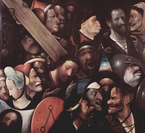 «Несение креста». Картина Иеронима Босхадемонстрирует печальное состояние зубов в Европе XV века