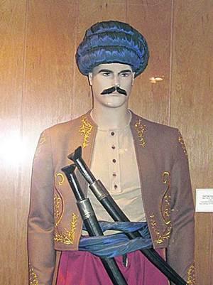 Турецкий моряк. Фигура из музея
