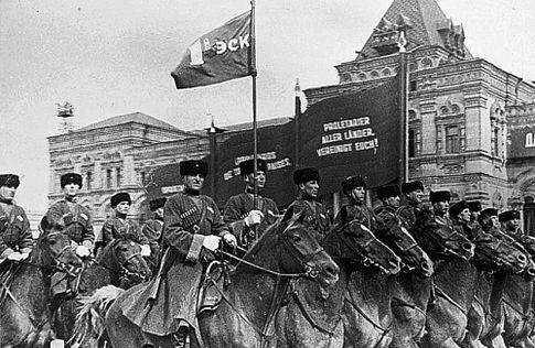 Красная армия уже оседлала коней