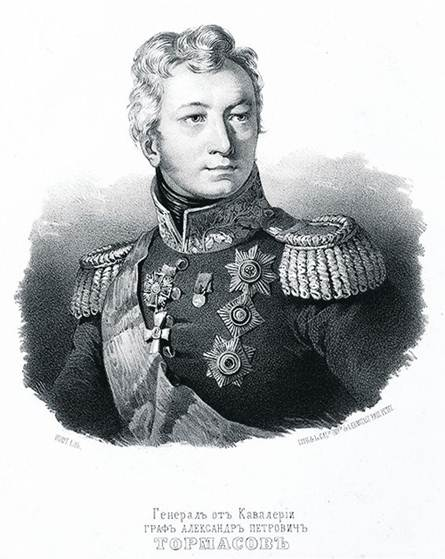 Сформированные на Киевщине четыре украинских казачьих полка попали в армию генерала Тормасова