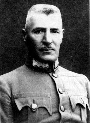 Генерал Кравс — бывший полковник австрийской армии