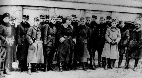 Офицеры Галицкой армии