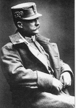 Мирон Тарнавский в австрийской униформе