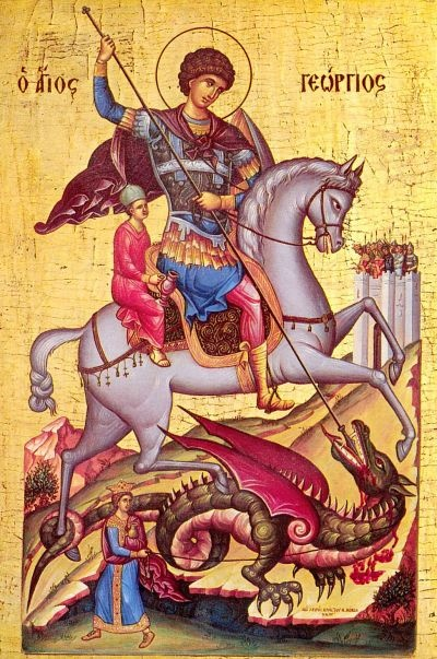 Простой образ Георгия Победоносца был славянам понятнее любых абстрактных<br /> премудростей