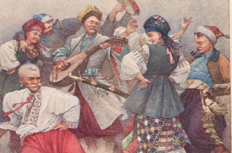 Художник Амвросий Жмаха. Изобразил в начале века процветающую Украину казачьих времен