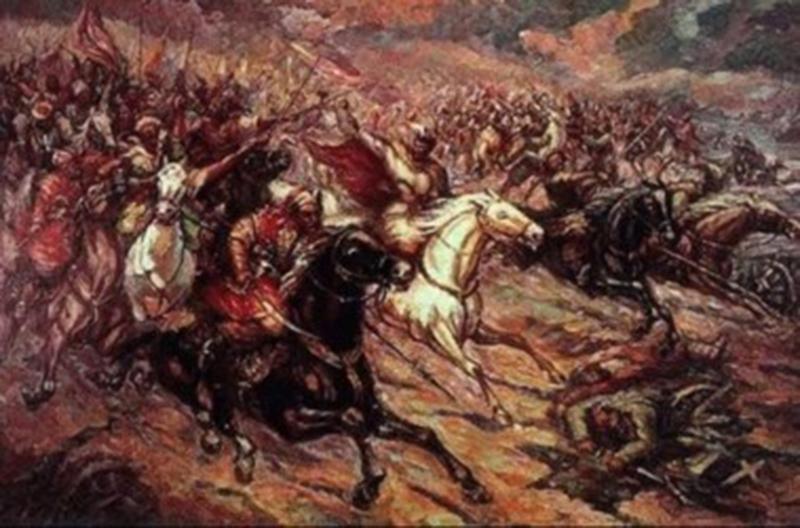 Мифическая атака. На самом деле вКонотопском сражении ее провело не войско Выговского, а татары