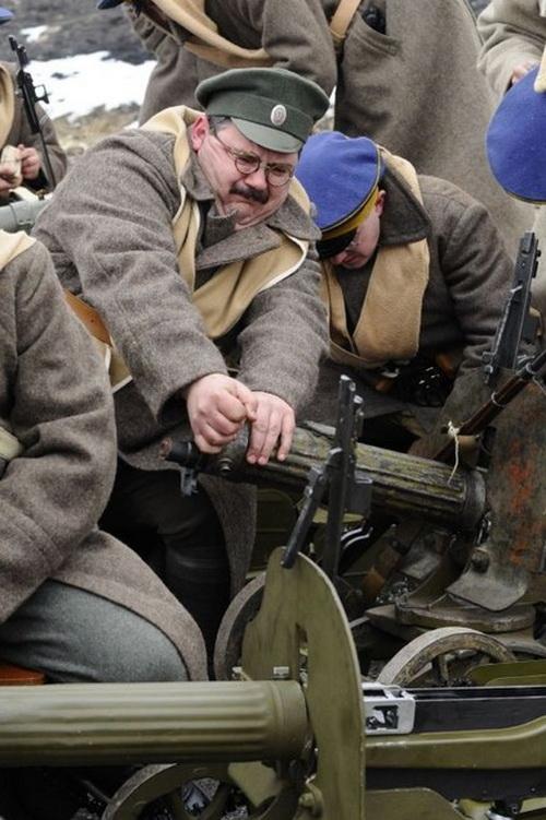 Заело проклятую железяку! А в 1918-м еще и штаб сбежал по пьяни. Фото МОО «Красная Звезда» www.rkka.kiev.ua