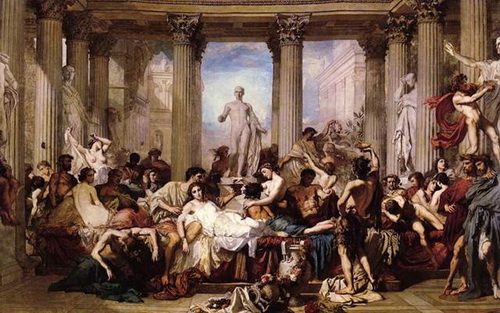 Римская оргия. Древние римляне разлагались точно так<br />же, как мыши в опытах Джона Кэлхауна.