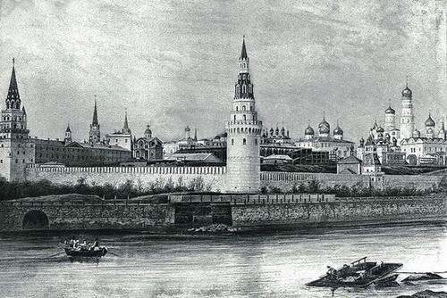 Кремль времен Ивана Грозного
