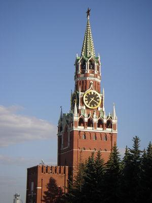 Кремль. Через эти ворота Нестор вошел в<br /> логово большевиков