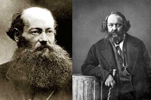 Петр Кропоткин (слева). Выдающийся<br /> князь-анархист; Михаил Бакунин (справа). Выглядит не хуже