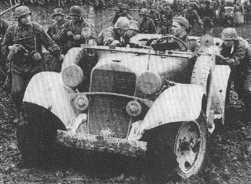Лето 1944-го. Где-то на Западной Украине