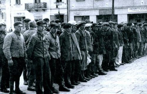 Сентябрь 1943. Отъезд в дивизию СС в Дрогобыче. Где энтузиазм?