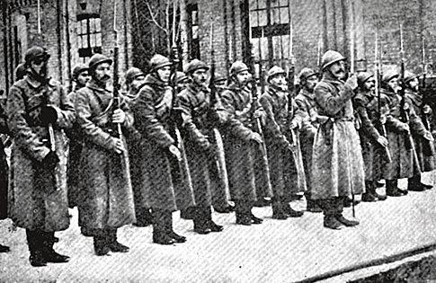 Сечевые<br /> стрельцы стали основной силой антигетманского переворота в конце 1918 года