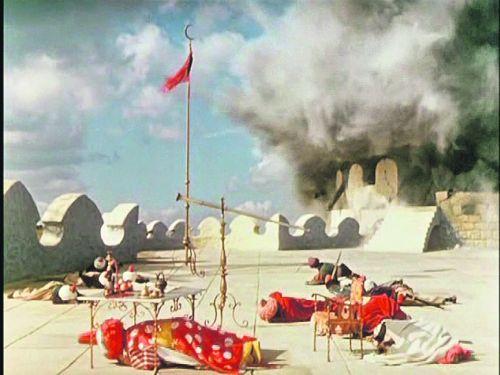 А завтра была война. Мюнхгаузен штурмует турецкую крепость