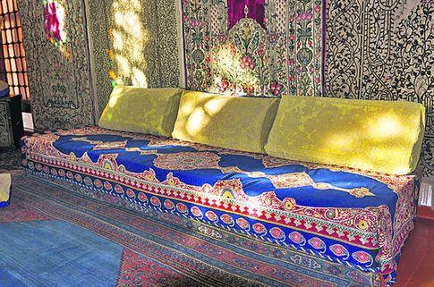Настоящий турецкий диван. От него произошли все европейские «мебеля» с таким названием