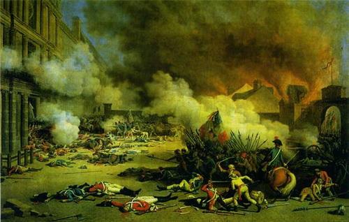 Наполеон:«Никогда позже ни одно из моих полей сражений не производило на меня такоговпечатления...»