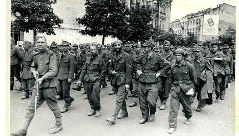 Немецкие пленные на киевскихулицах