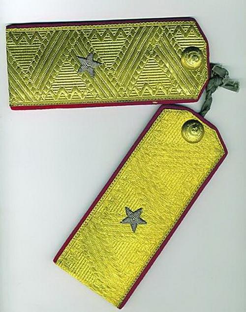 Советские погоны генерал-майора. Такие ввели 6 января 1943 года
