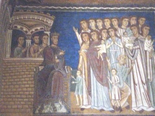 Император Константин и христиане. Фальшивка «Константинов дар» долгие века использовалось папами