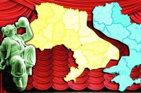На границе двух миров. Как раз по Украине проходит разлом между прагматичной западной и разгильдяйской восточно-европейской цивилизациями