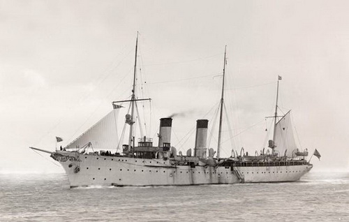 Крейсер<br ></img>«Алмаз». Воевал за Одесскую Республику в 1918 г.