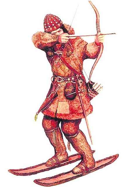 Славяне позаимствовали лыжи у финских племен